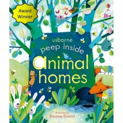 Animal Homes  -  USBORNE Peep Inside
