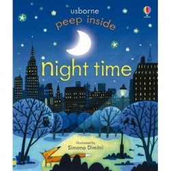 Night Time -  USBORNE Peep Inside